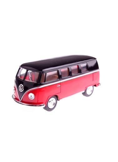 1962 Volkswagen Classical Bus 1/32 Çek Bırak Die-cast Model Araç-Kinsmart